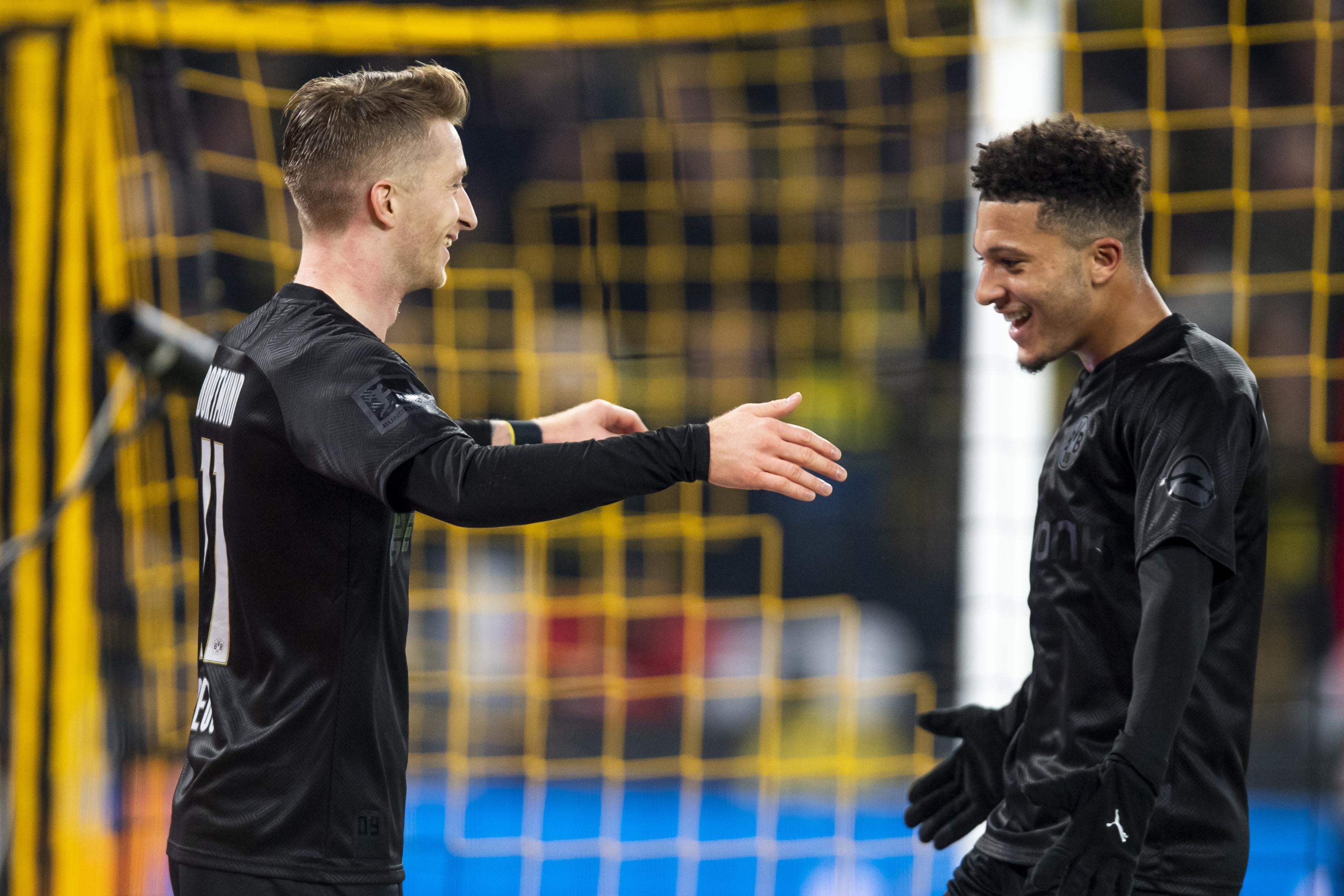 Marco Reus Advises Jadon Sancho To Stay At Borussia Dortmund