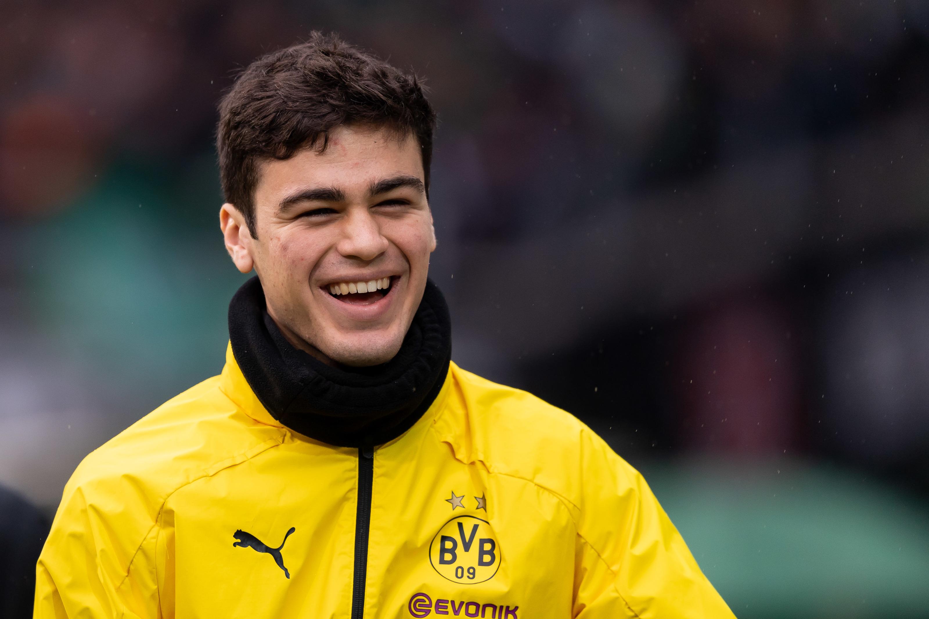 Borussia Dortmund: England tracking Gio Reyna progress