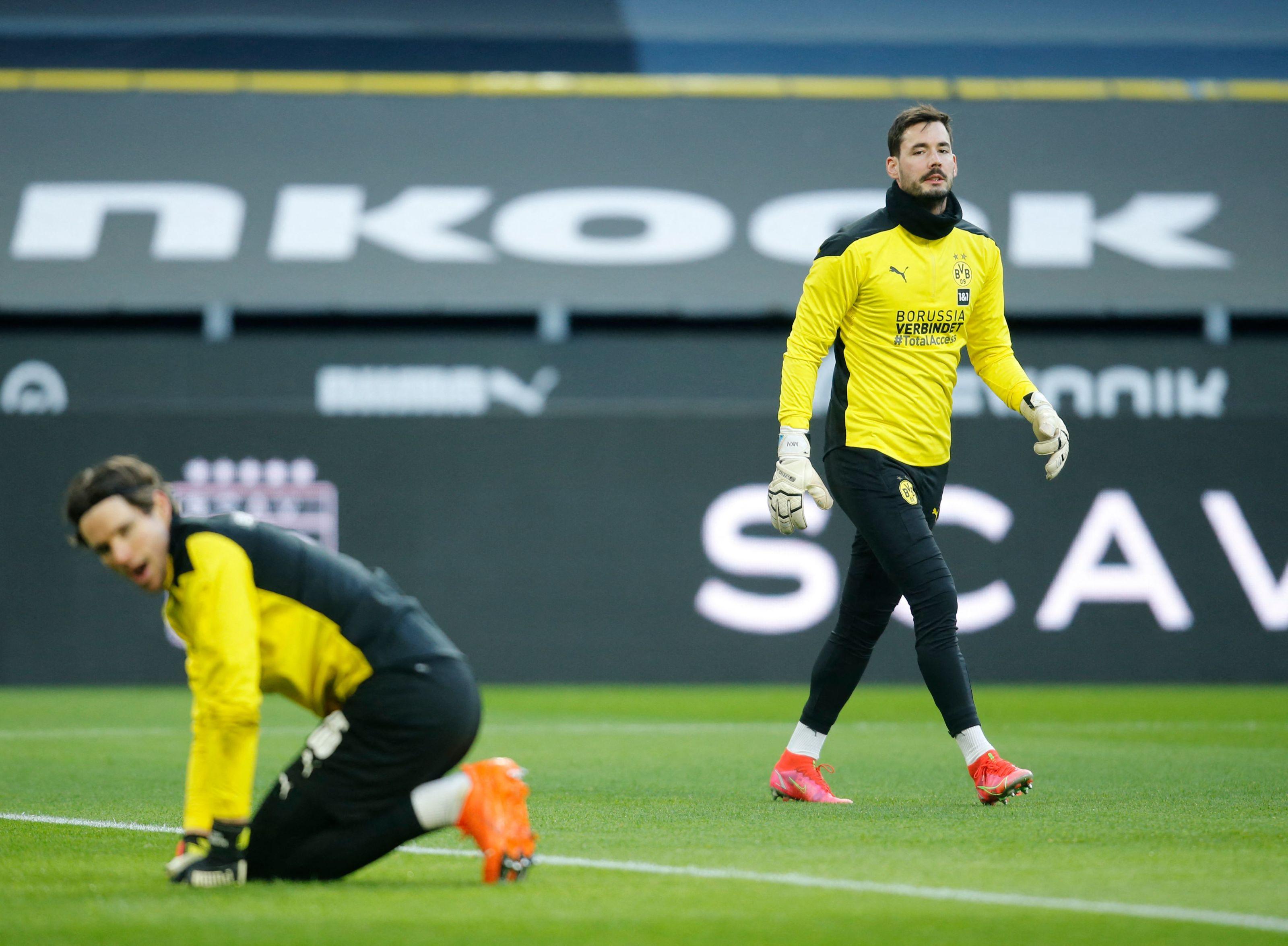Borussia Dortmund may stick with Bürki and Hitz next season