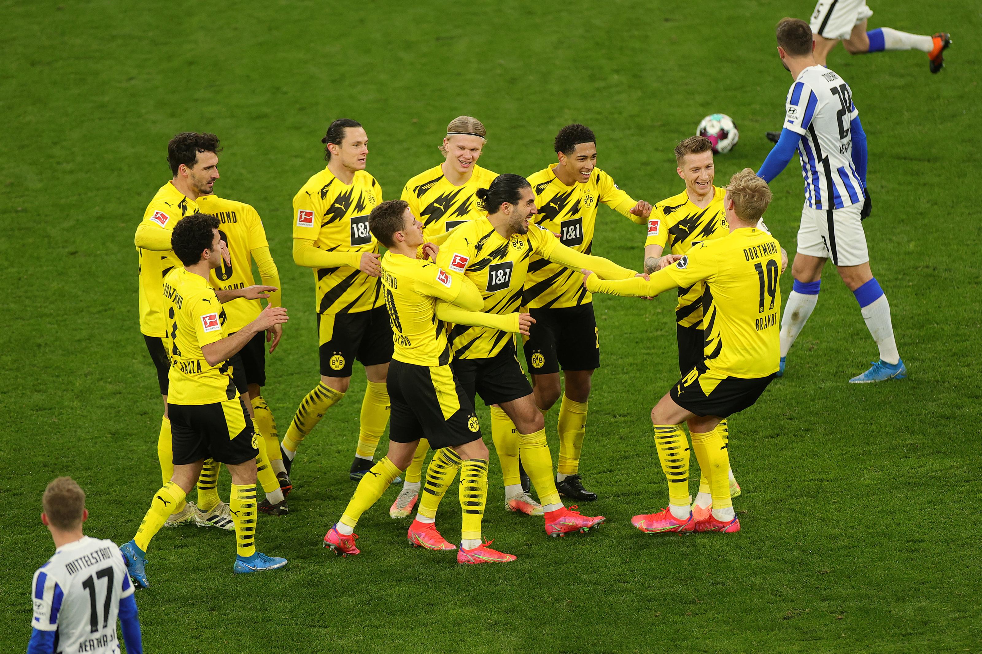 Confirmed Borussia Dortmund Lineup For Bundesliga Clash Against Fc Ku00f6ln
