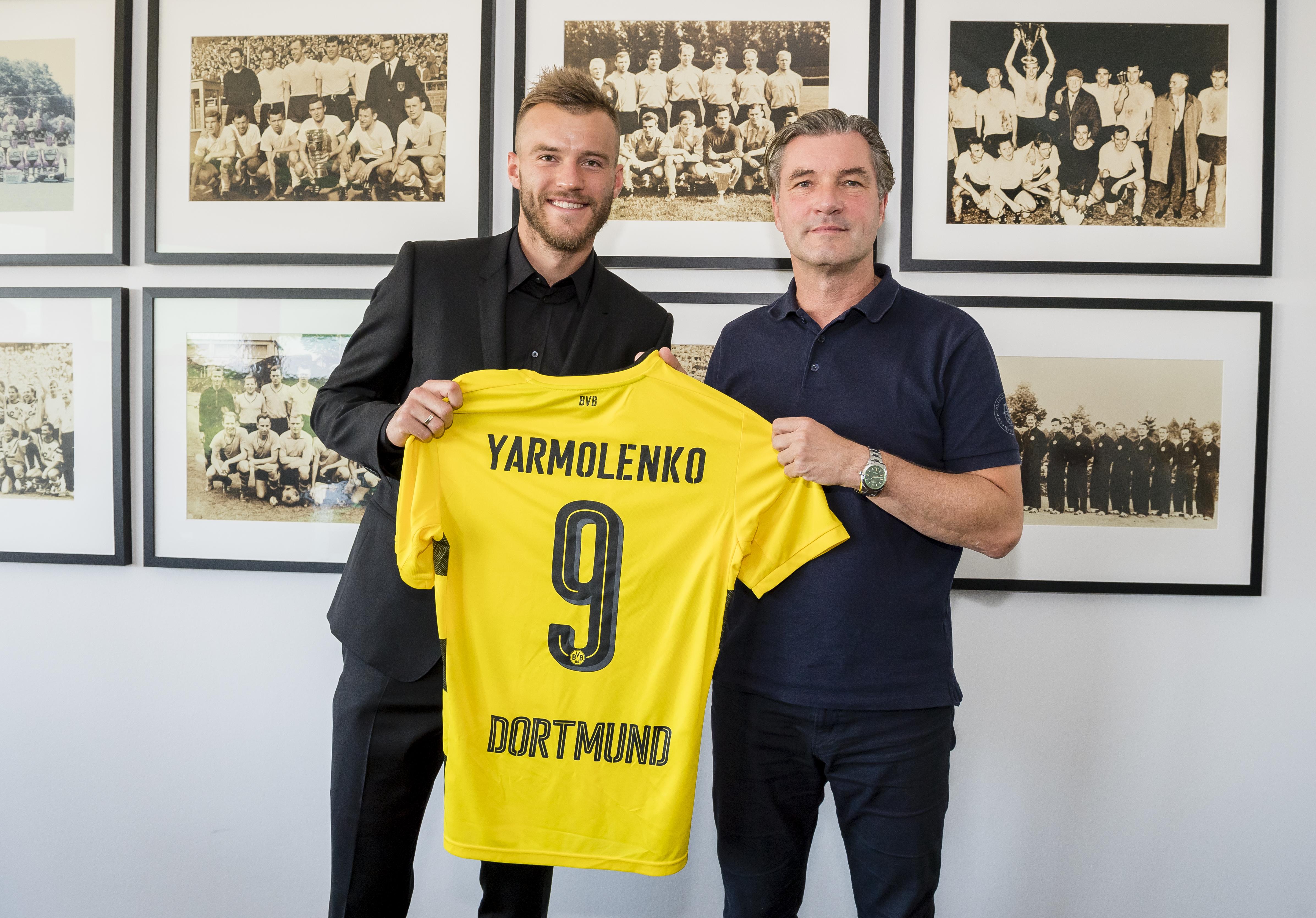Andriy Yarmolenko the answer to Borussia Dortmund s No 9 curse