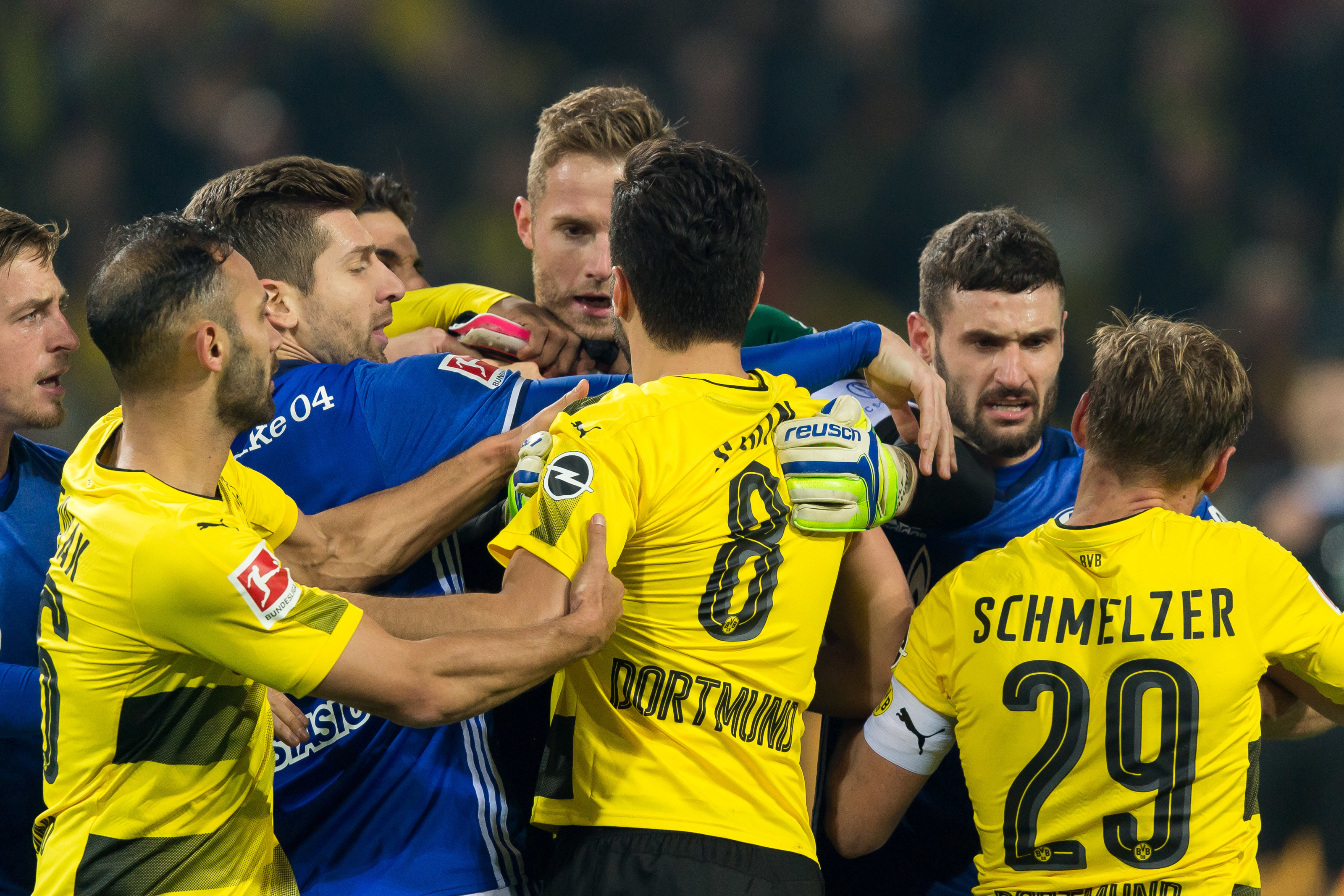 Match Preview Borussia Dortmund Face Schalke 04 In Crucial Revierderby